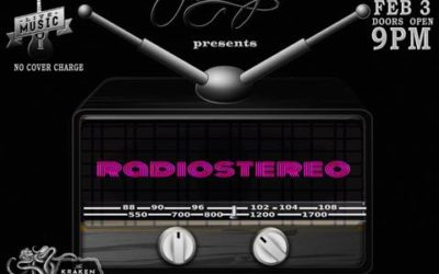 RADIOSTEREO! performing Live at Bar Nancy!