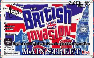 MAIN STREET LIVE @ NANCY – SAT MARCH 31 – 10PM