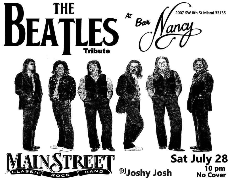 THE BEATLES TRIBUTE BAND MAIN STREET