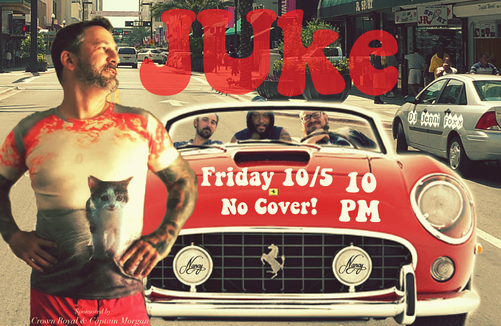 JUKE - FRIDAY OCTOBER 5TH - 10PM - NO COVER - DJ JENNI FOXX