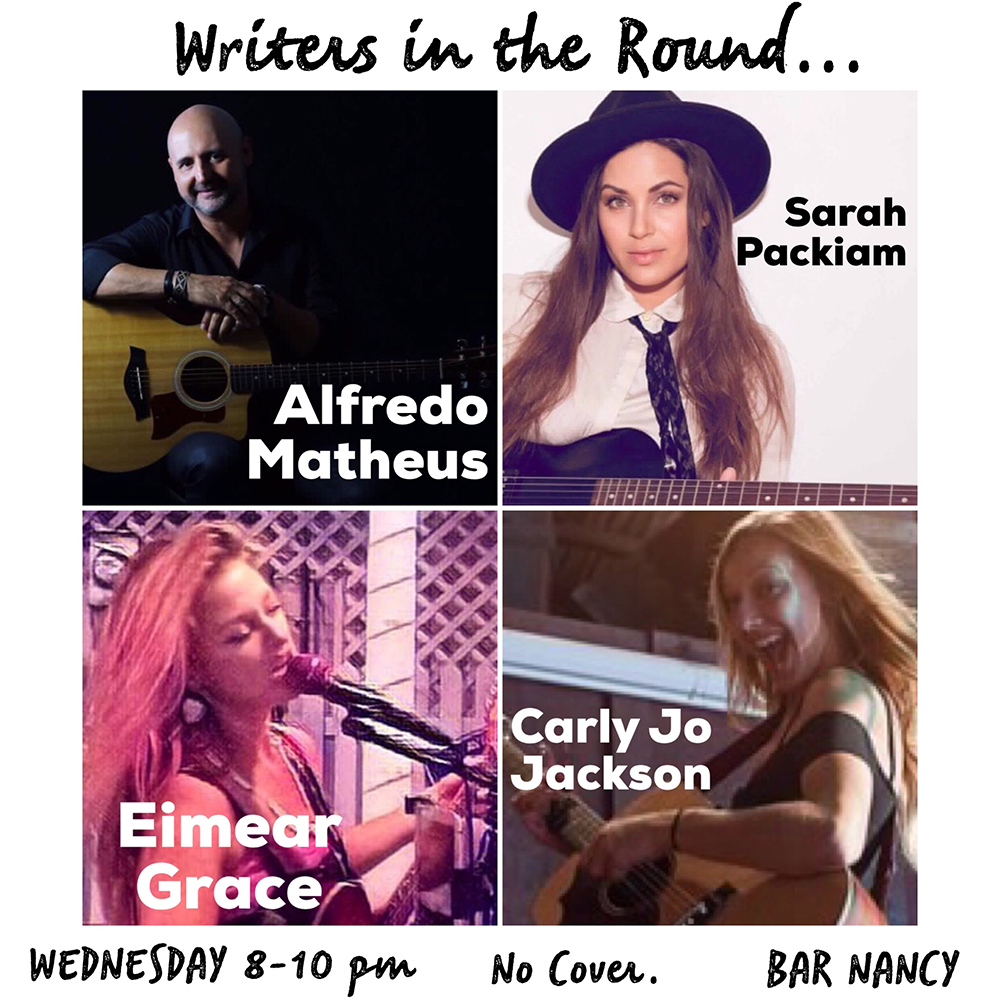 Writers in the Round! Hosted by Juan Turros! WED JAN 9 - NO COVER - 8 to 10pm