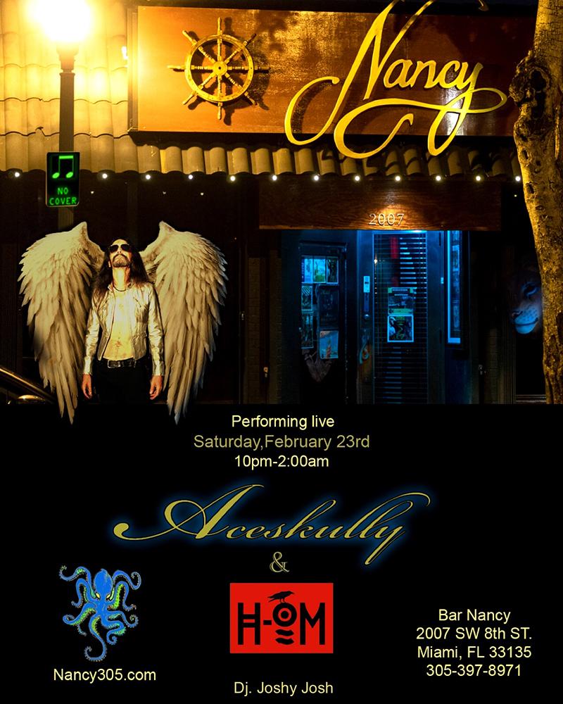 ACESKULLY & H-OM - FEB 23 - DJ JOSHY JOSH - NO COVER - 10PM