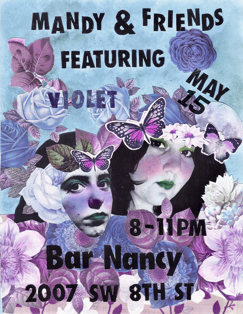 Mandy & Friends - Singer Songwriters @ Bar Nancy - Wednesday, May 15, at 8 PM - NO COVER