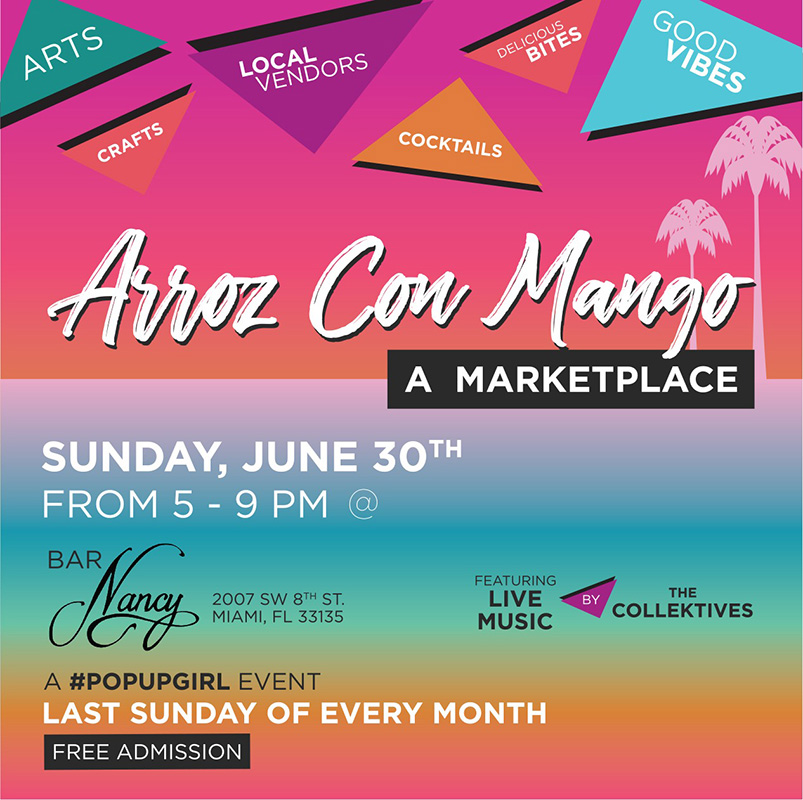 Arroz Con Mango! A Marketplace! Music by The Collektives!
