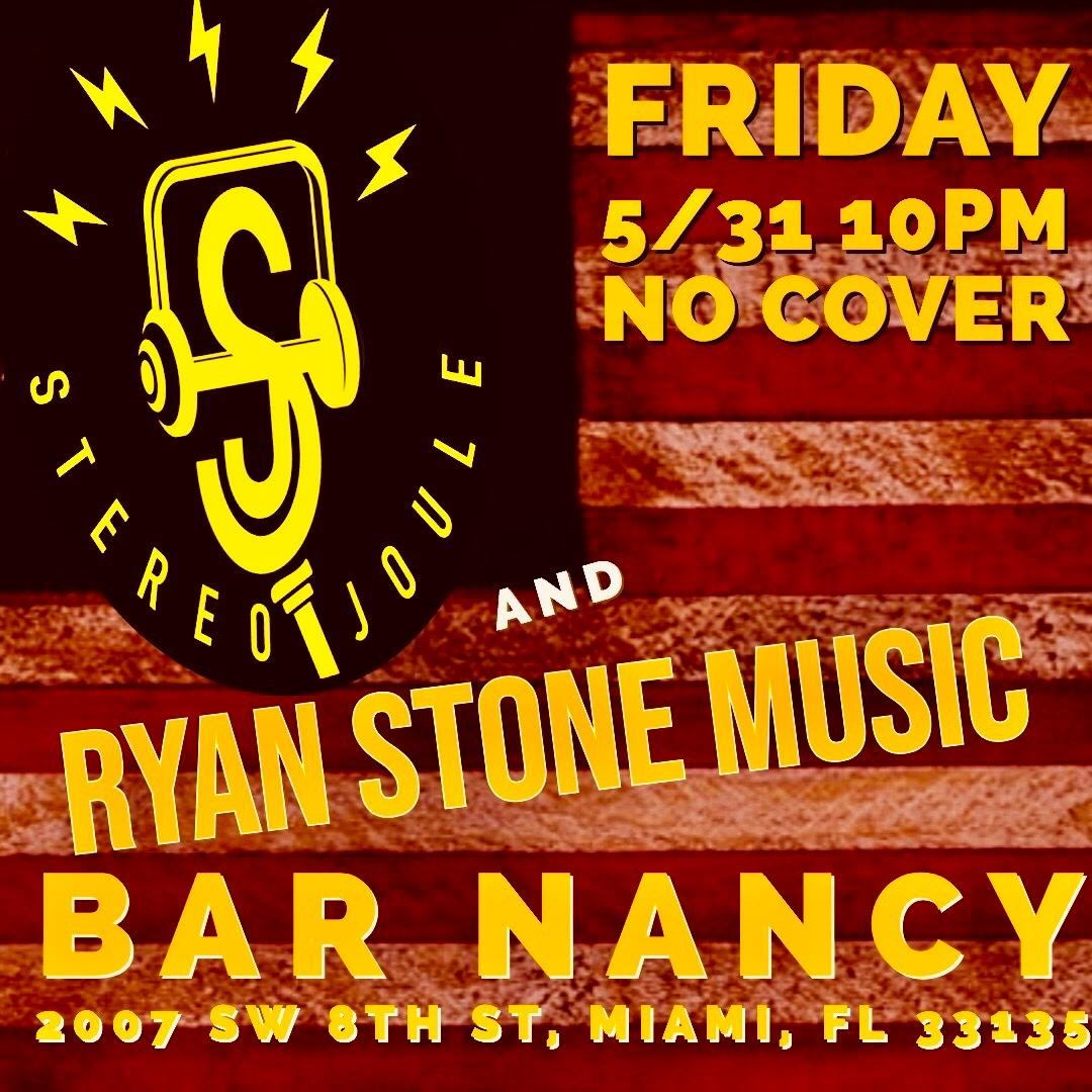 Stereo Joule & Ryan Stone at Bar Nancy