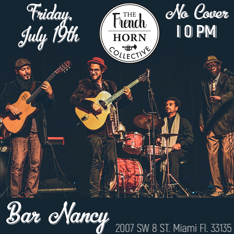The French Horn Collective! at Bar Nancy
