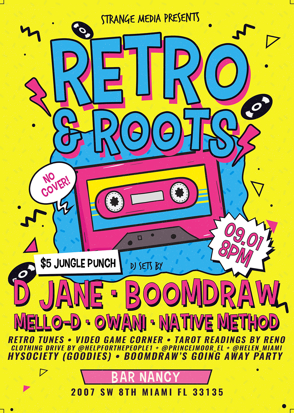 Retro & Roots! (BoomDraw's Farewell to Jamaica)