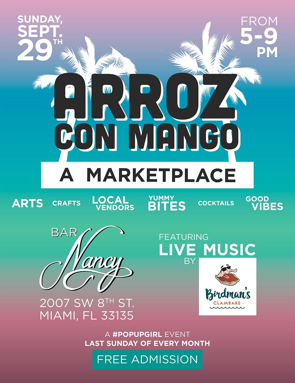 Arroz Con Mango! Featuring Birdman's Clambake!