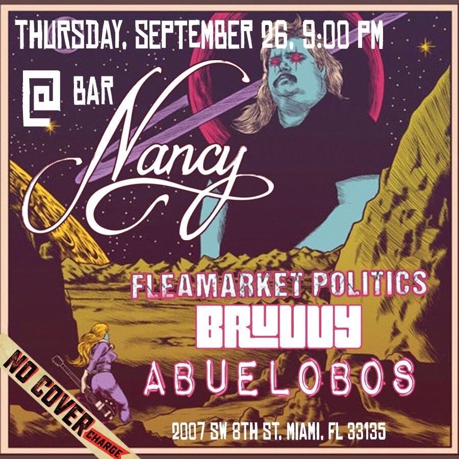 Fmp! Abuelobos! + Bruvvy! Thursday Night at Bar Nancy!
