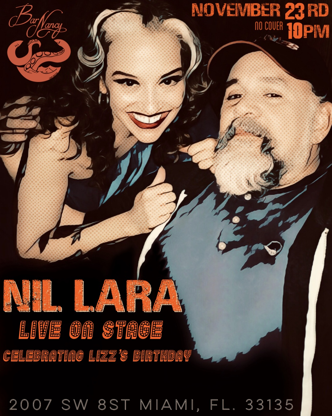 Nil Lara LIVE at Bar Nancy! (and Lizz's Birthday Tequila Party!)