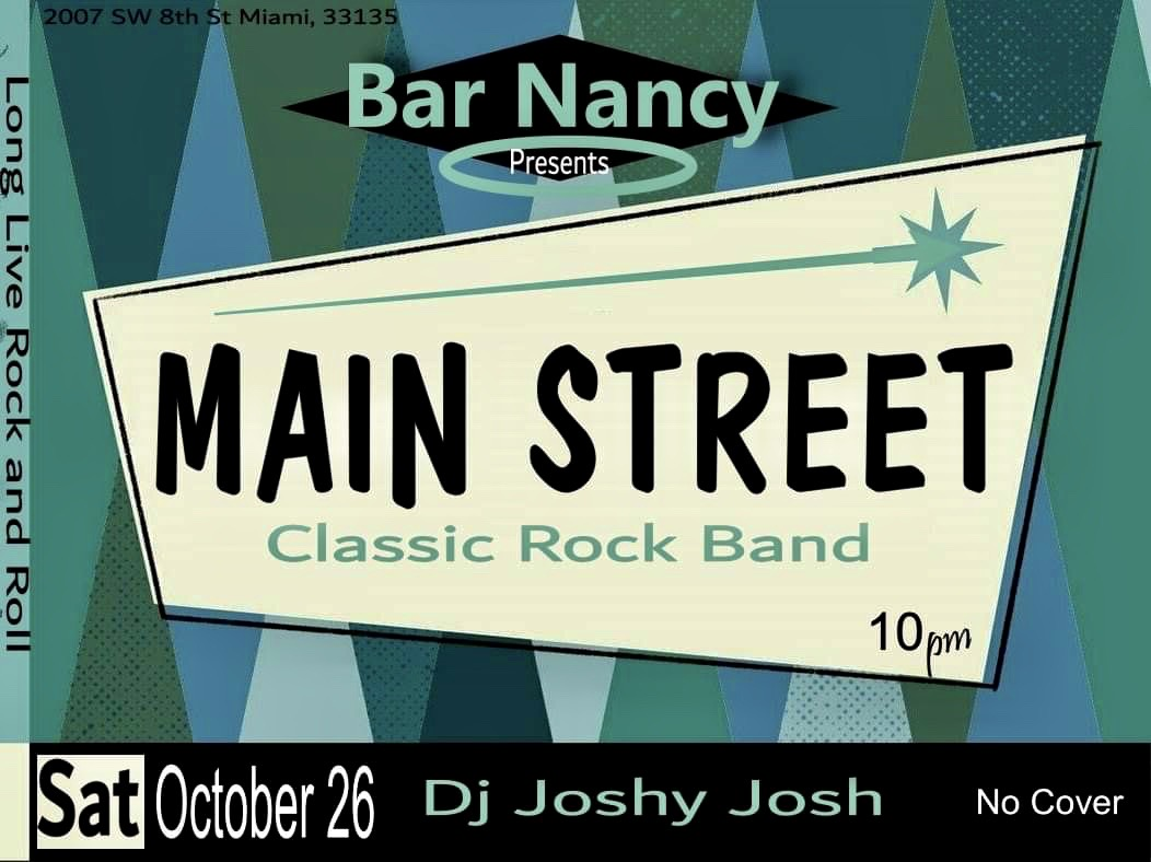 Long Live Rock and Roll with MainStreet!