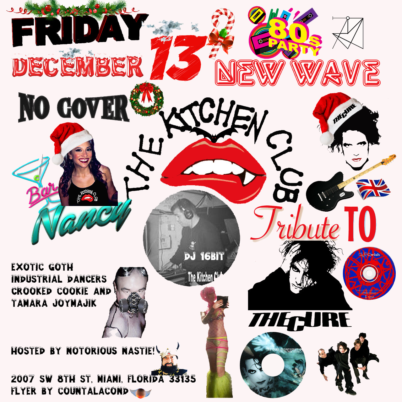 The Kitchen Club! The Cure Tribute! Holiday Edition!