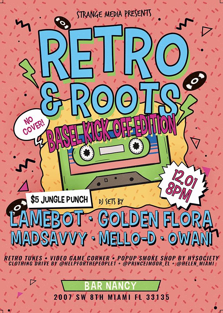 Retro & Roots: Basel Kick-Off Edition @ Bar Nancy
